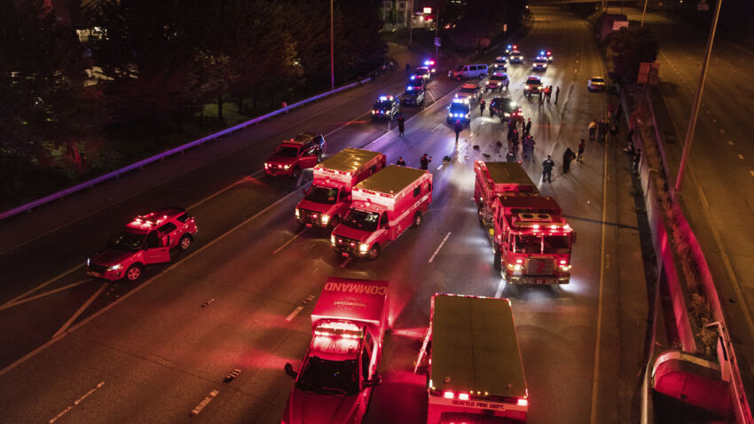 Protester dies after being hit by car in Seattle 1