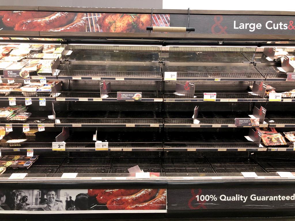 Coronavirus economy: Food costs rocket, gasoline prices plunge 1