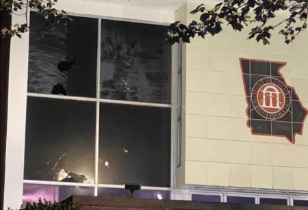 Protesters cause 'extensive damage' at GA Department of Public Safety HQ overnight 1