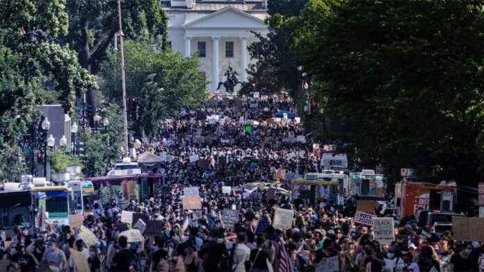 Leftist Protests More Sacred Than Church Services 1