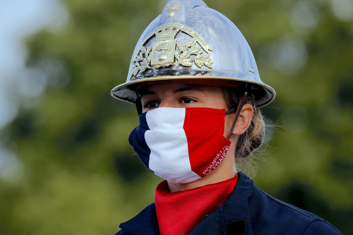 Use of face mask in all indoor public spaces in France will be mandatory starting Monday, as fears of second wave grow 1