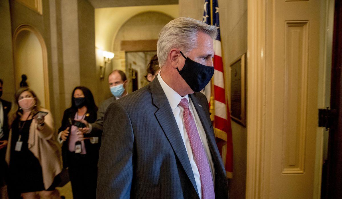Kevin McCarthy prods Nancy Pelosi on rapid coronavirus testing for Congress 1