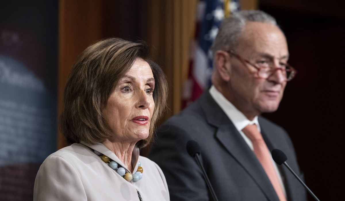 Pelosi, Schumer slam GOP coronavirus proposal: 'Catastrophe is looming' 1