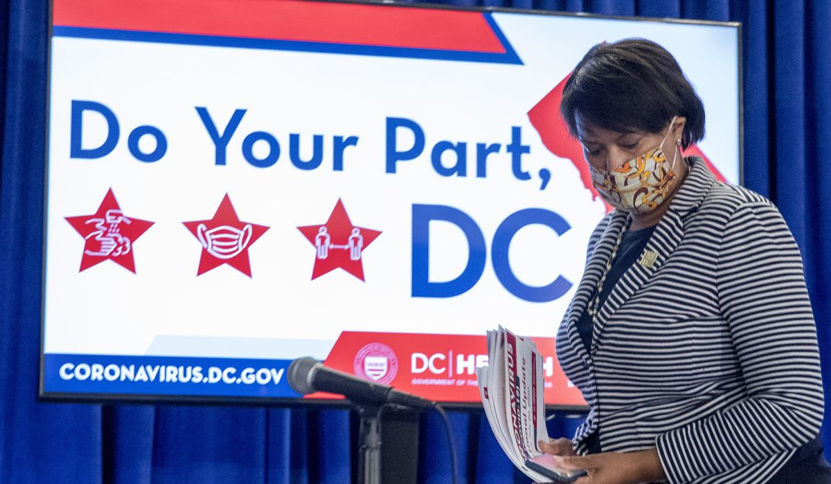 D.C. travelers ordered to self-quarantine if they went to high-risk states 1