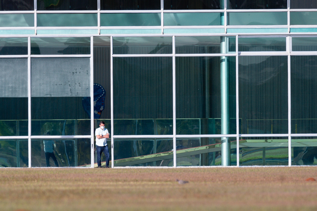 Brazil's president tests positive for COVID-19 again 1