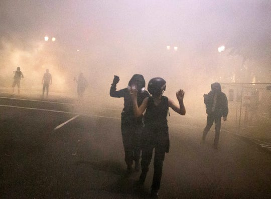Portland, Oregon, police declare Saturday gathering a riot after another night of protest, unrest 1