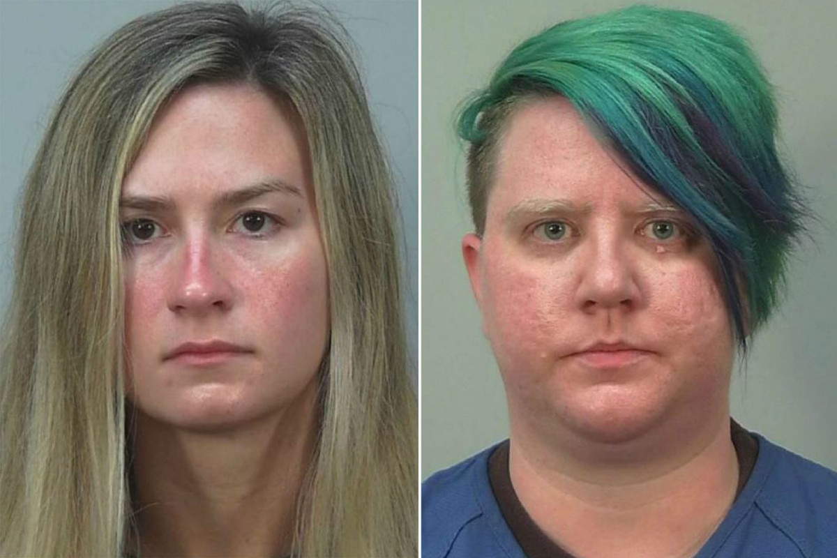 Two women charged with beating Wisconsin lawmaker during protest 1