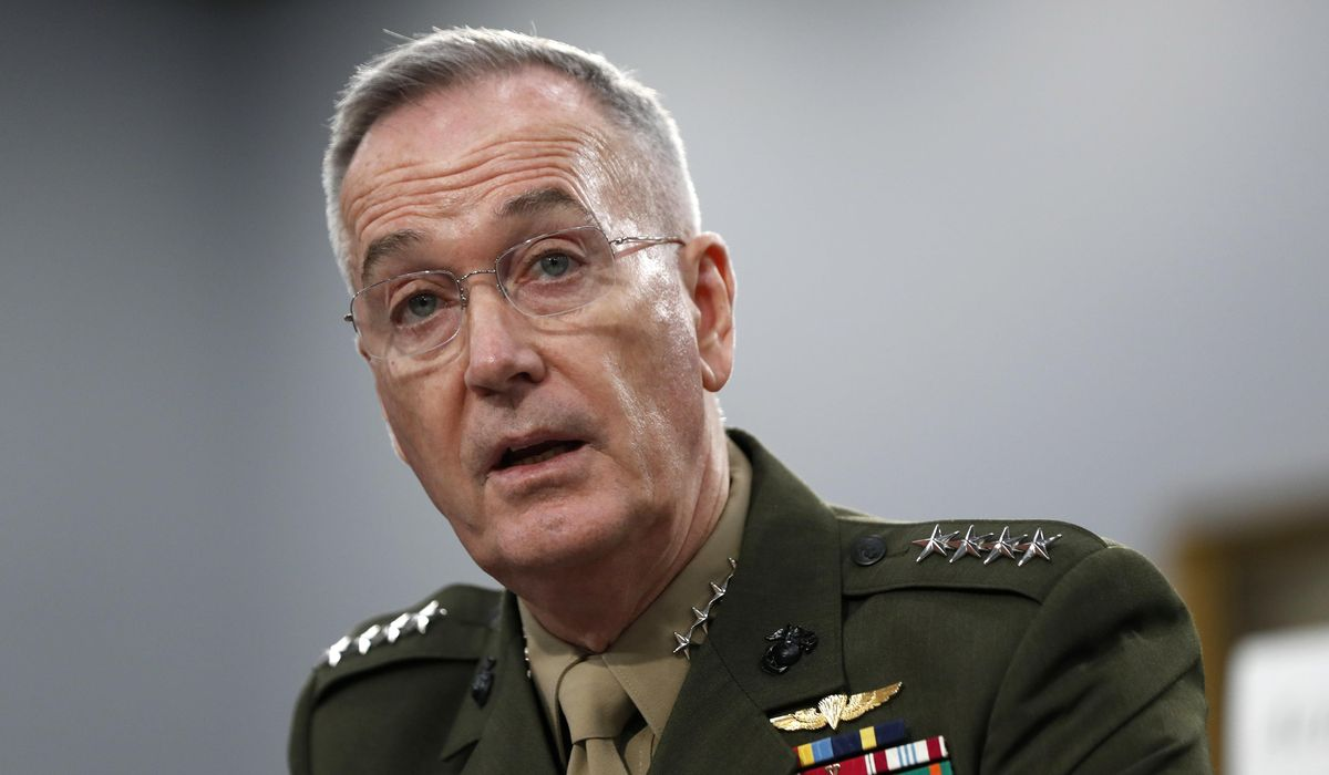 Former Joint Chiefs Chair Dunford withdraws consideration to lead $500B COVID-19 relief commission 1