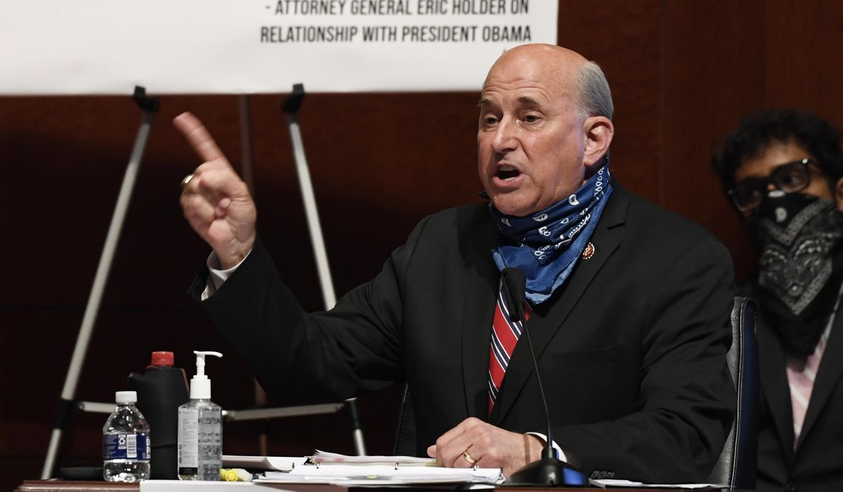 Louie Gohmert taking hydroxychloroquine to treat coronavirus 1