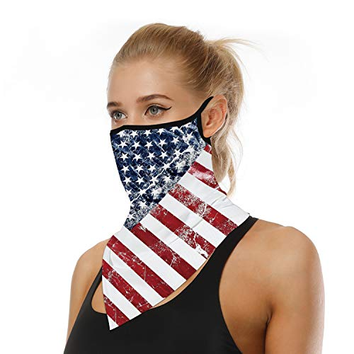 Earhook Bandanas Face Mask similar to ATV/UTV Tek