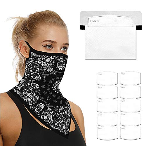 Face Mask Bandana with filter like ATV/UTV Tek Pro Bandana