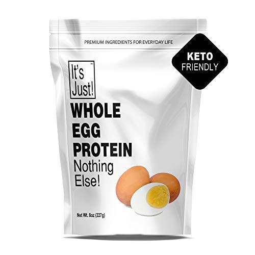 It's Just - Whole Egg Protein Powder, Made in USA, Non-GMO (8oz)
