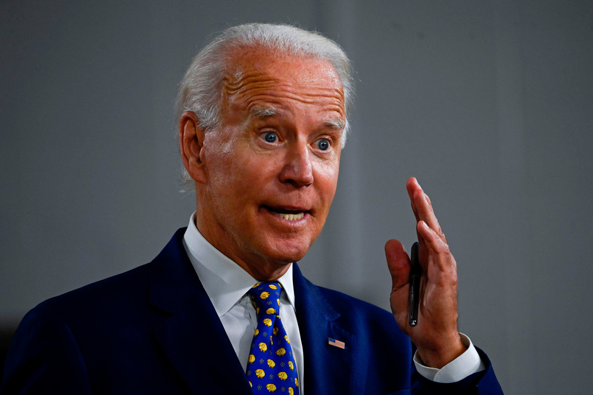 Biden calls for violent protesters to be 'found, arrested and tried' 1