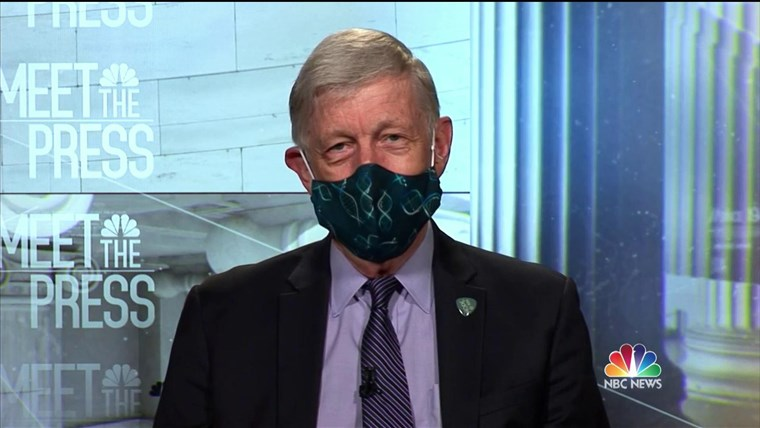 NIH director says wearing masks is not 'optional' to curb pandemic's spread 1
