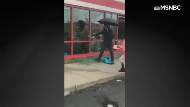 'Umbrella Man' aimed to 'incite violence' during George Floyd protests, police say 1