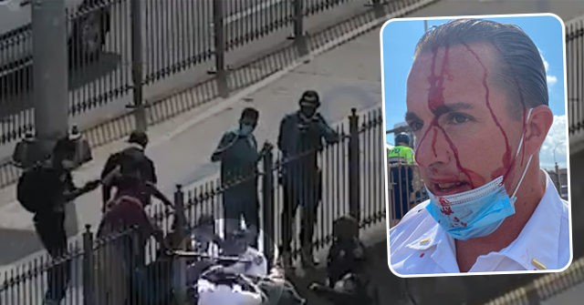 Protesters Attack and Bloody NYPD Officers in Broad Daylight 1