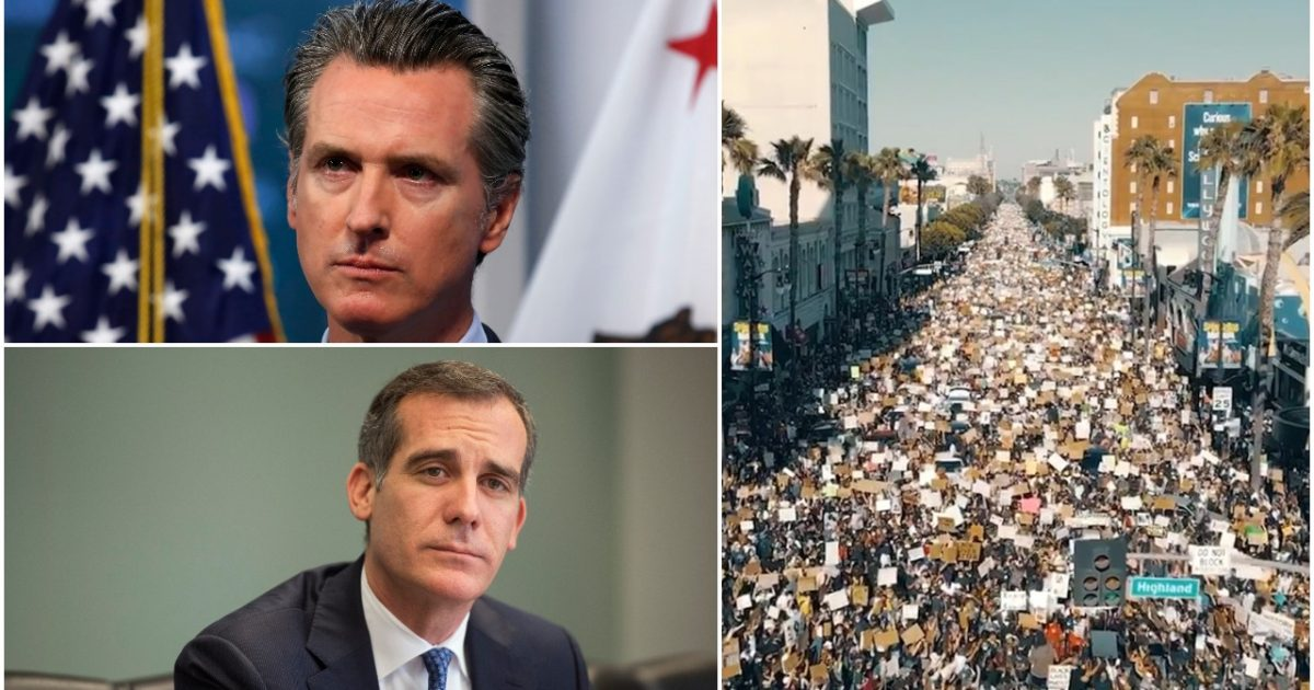 California Shuts Down Economy Again Due to COVID-19 Spike…Just Weeks After Massive BLM Riots 1