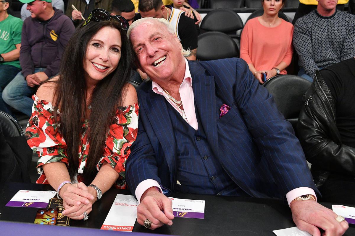 Ric Flair's wife Wendy Barlow doing better after coronavirus 'nightmare' 1