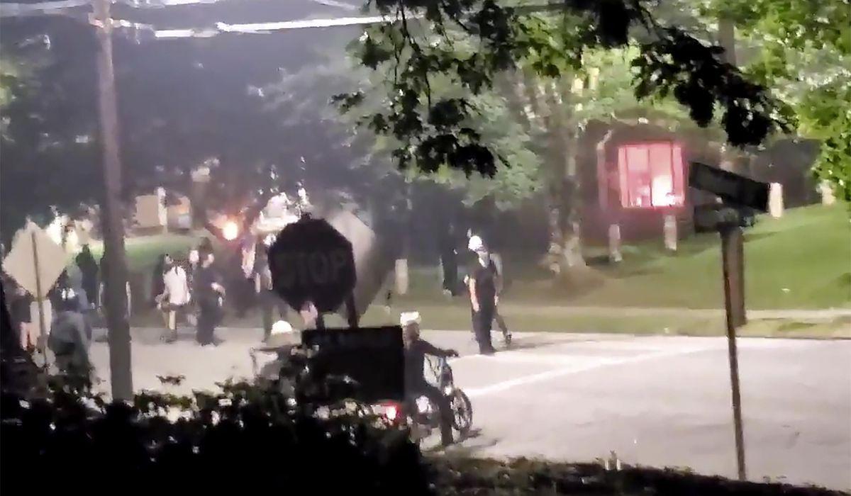 Georgia State Patrol headquarters damaged in Atlanta protests 1