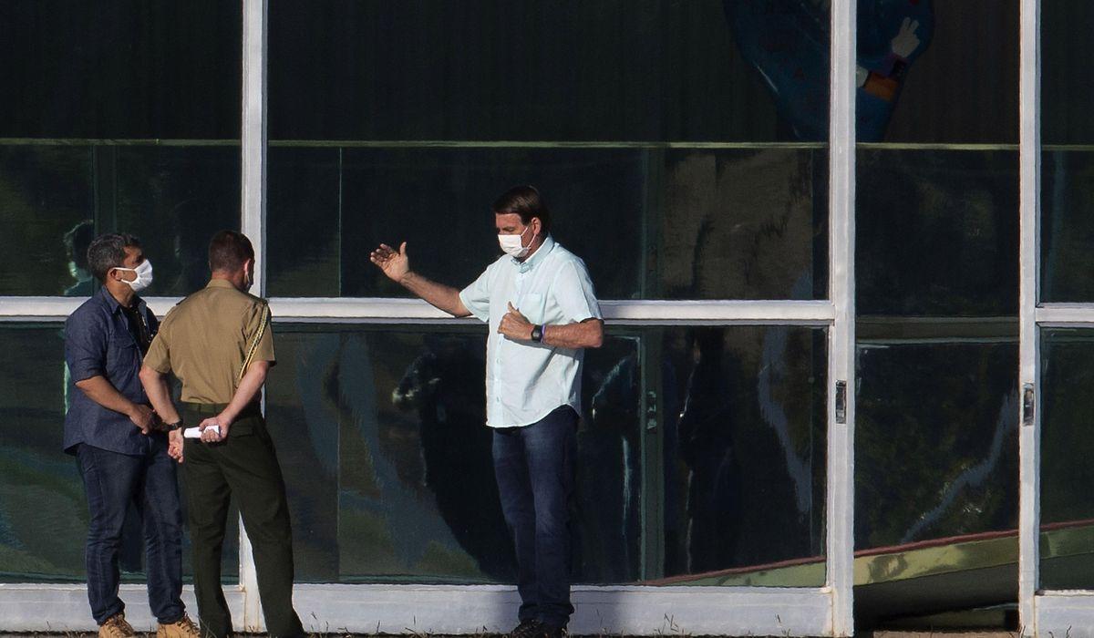 Brazil's Bolsonaro gets new positive coronavirus test result 1
