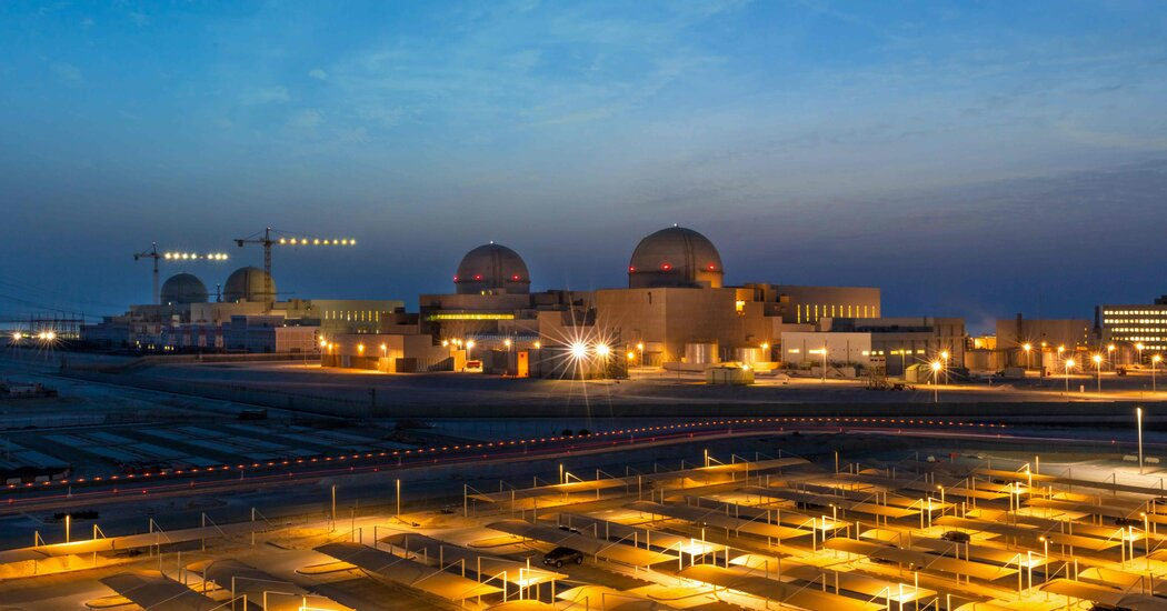 U.A.E. Becomes First Arab Nation to Open a Nuclear Power Plant 1