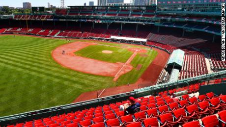Baseball's Opening Day reflects a politicized nation caught between Covid-19 and hope 1