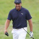 Bryson DeChambeau snaps driver during PGA Championship opening round 5
