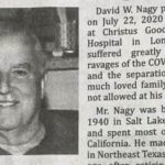 Viral obit blames Trump and Texas governor for man's COVID-19 death 20