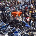 250,000 people flock to South Dakota biker rally despite coronavirus 20