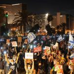 Israeli writer, grandfather emerges as a symbol of anti-Netanyahu protests 7