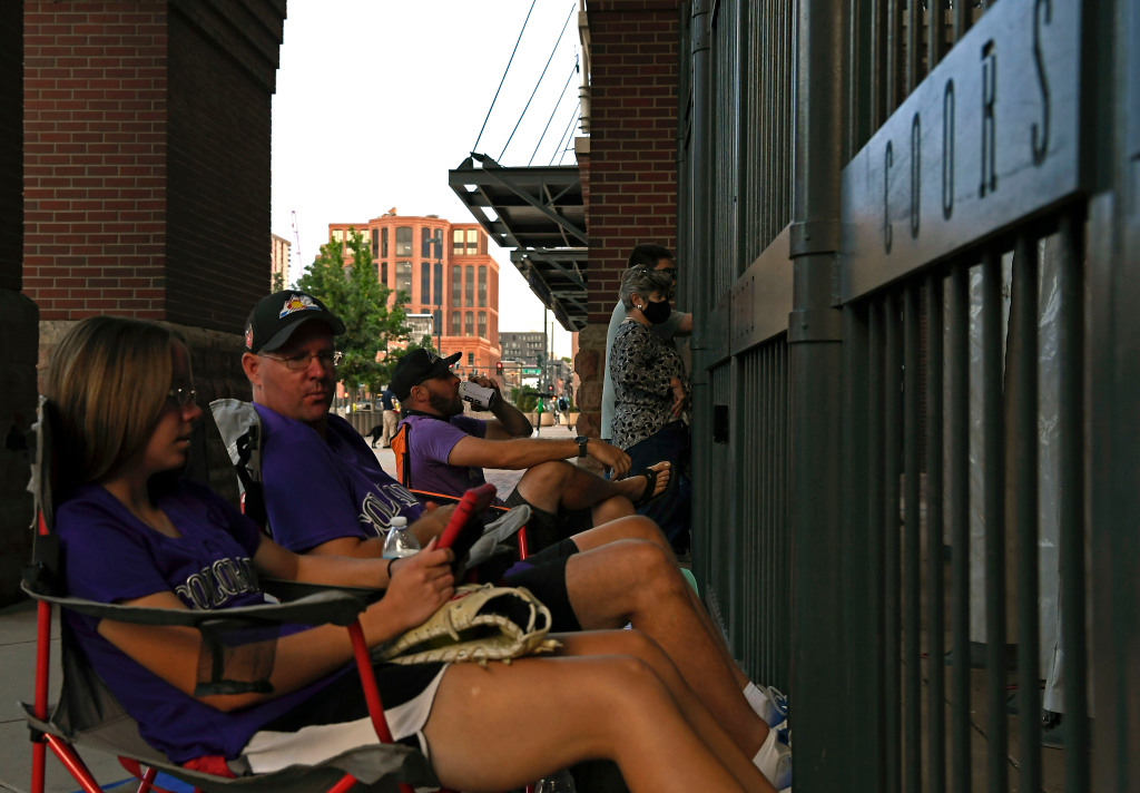 """Keeler: On Rockies' opening day 2020, LoDo felt like loneliest place on Earth. """"It's never a ghost town."""" 1"""