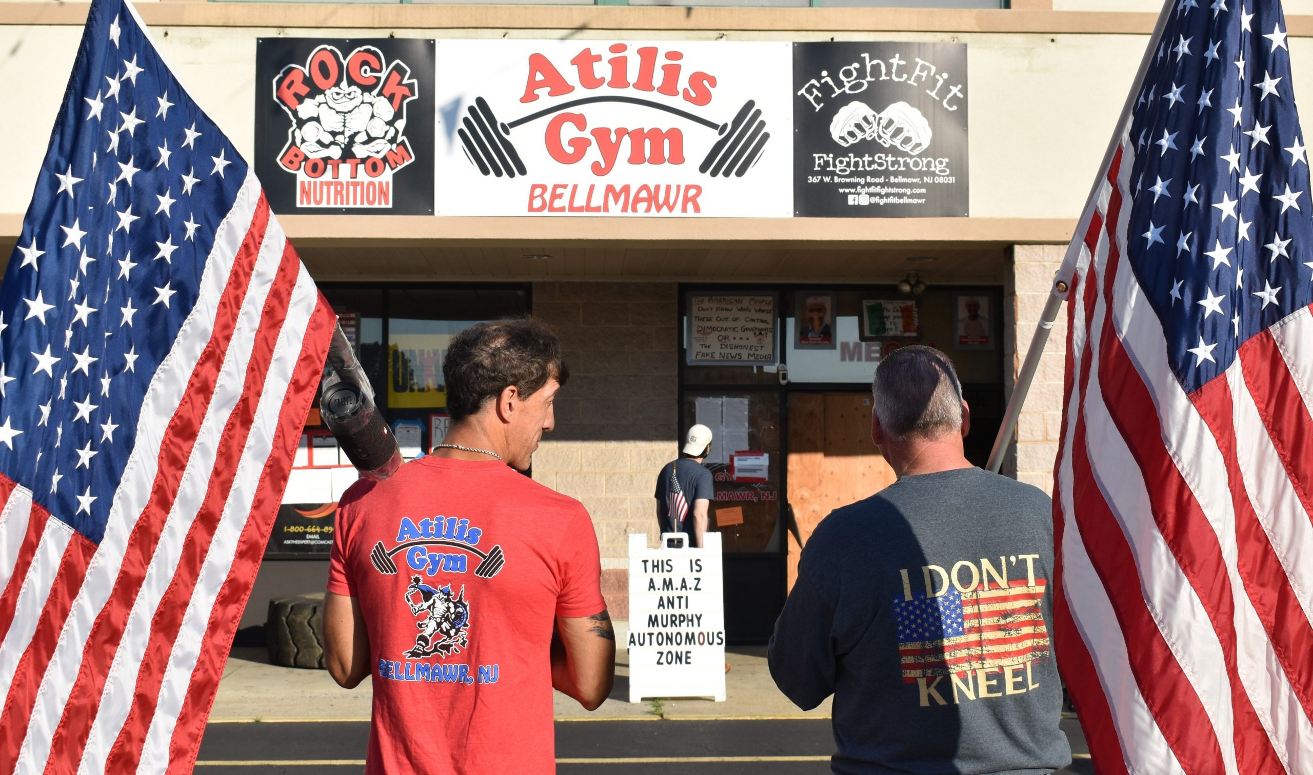 New Jersey gym owners defy pandemic orders, break into business closed by state and reopen 1