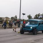 Jeep that ran through BLM protest got lost on way to airport, passenger says 8