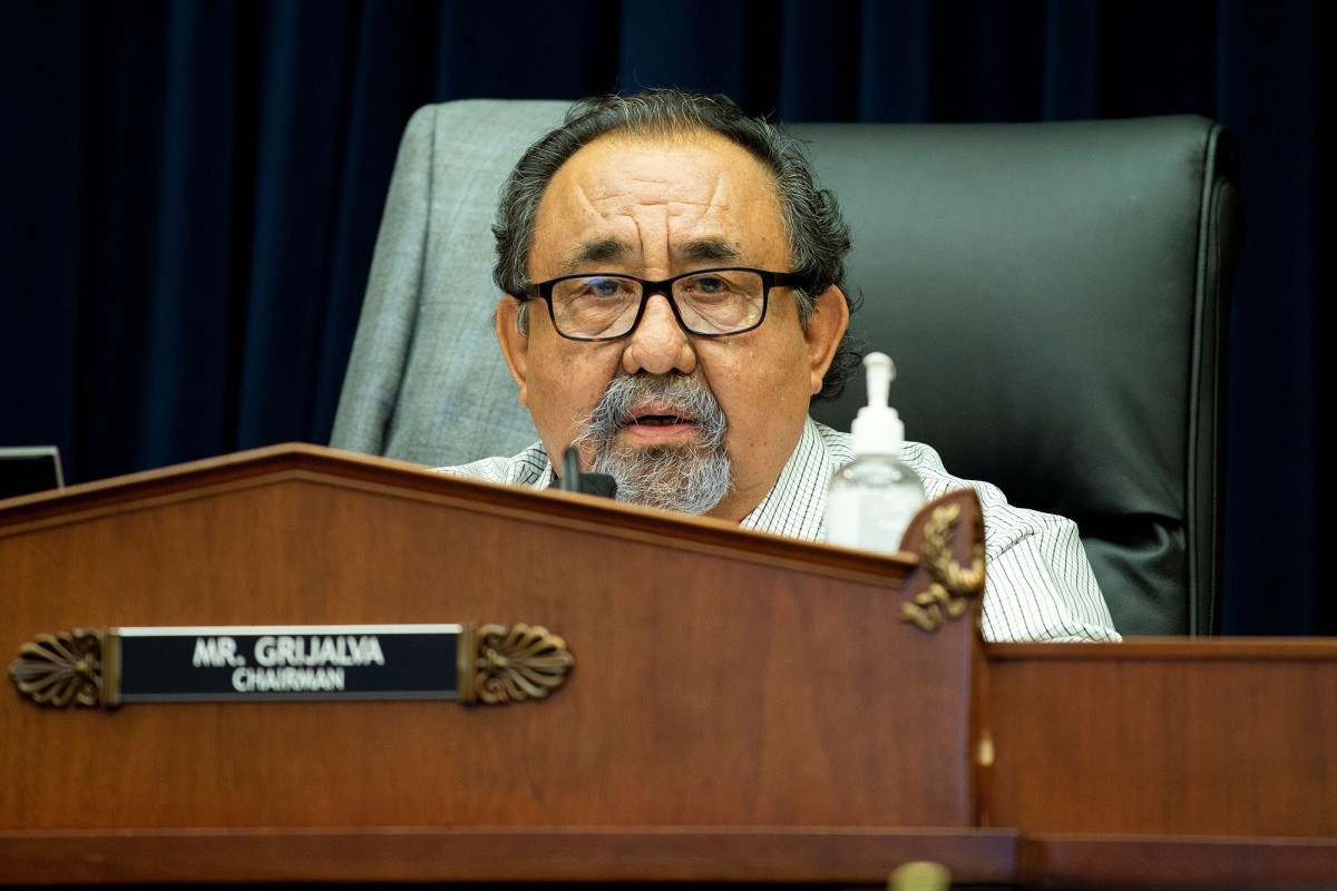 Arizona Congressman Raul Grijalva tests positive for COVID-19 1