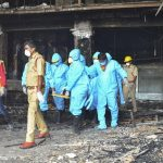 Fire kills 7 coronavirus patients in India COVID-19 facility 17