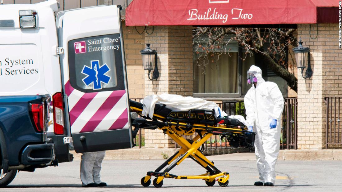 Nursing home where 17 bodies were found sued for alleged failures during Covid-19 1