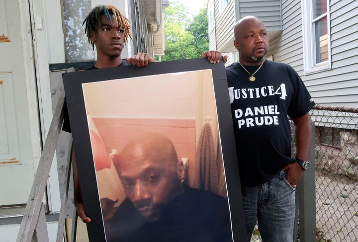 Naked Protesters Wear 'Spit Hoods' In Upstate New York To Decry Daniel Prude's Death 1