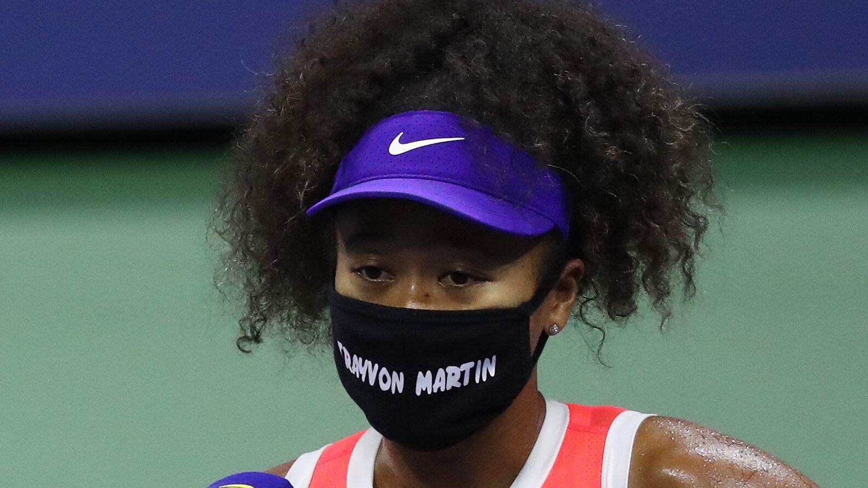Naomi Osaka's Powerful U.S. Open Statements Continue With Trayvon Martin Mask 1
