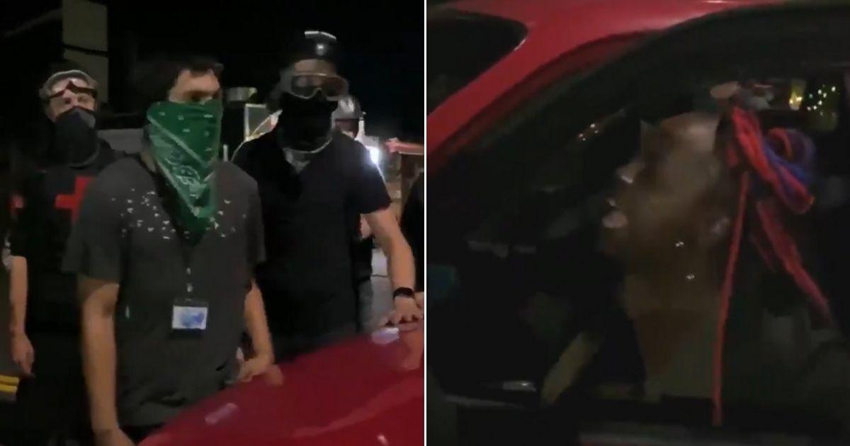 Black female driver flips media's race narrative, blasts white rioters in Portland 1