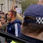 Exclusive Video: Watch Cops Storm, Forcibly Shut Down Peaceful Anti-Lockdown Protest in London 19
