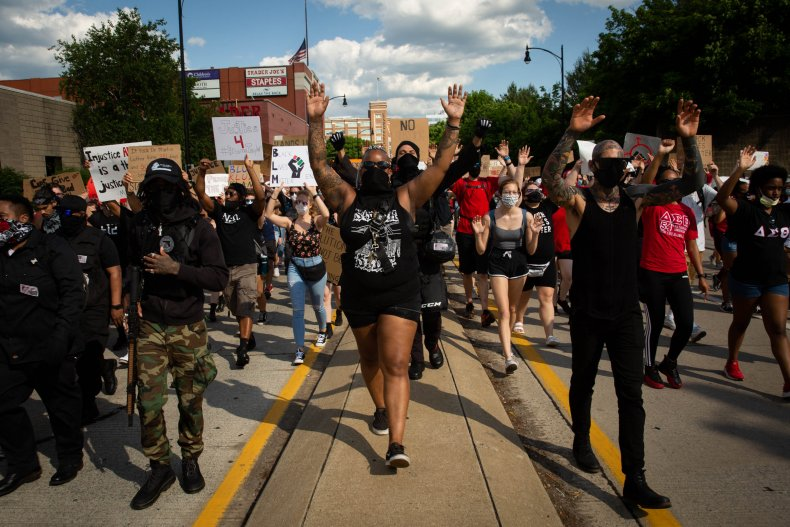 Trump Retweets Video of BLM Protesters Accosting Black Manager at McDonald's 1
