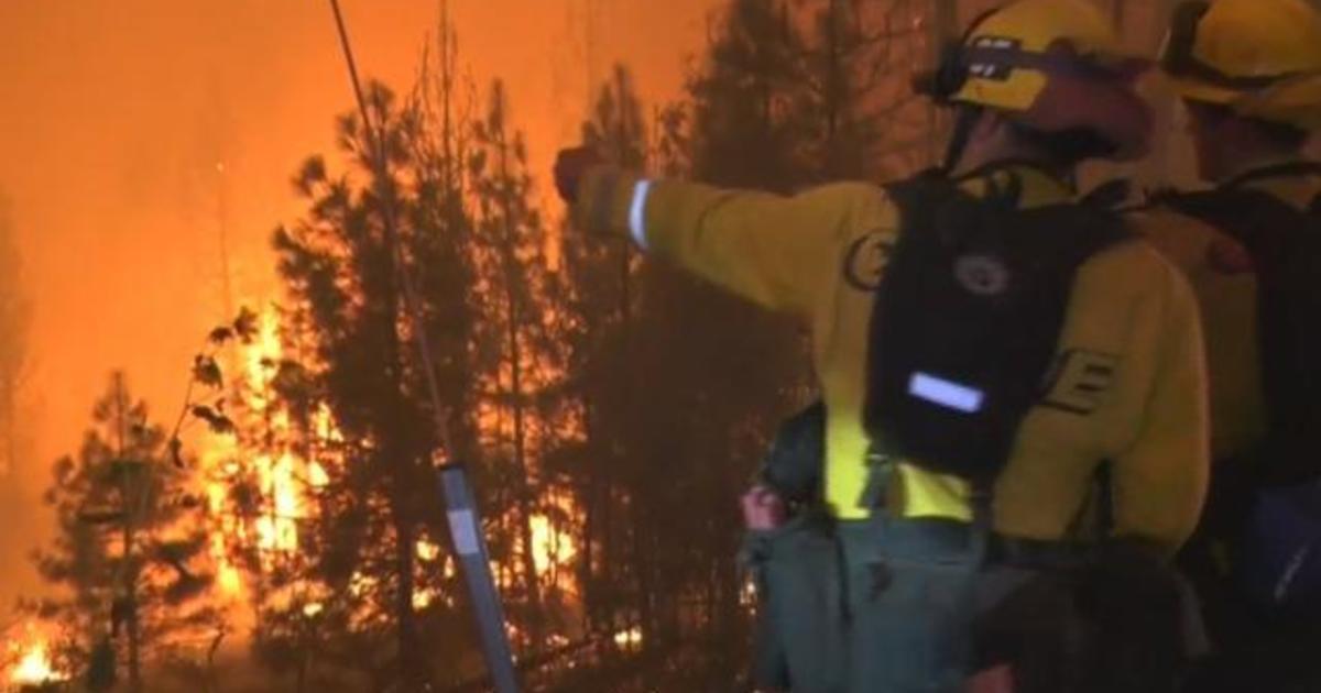 Eye Opener: Dozens of wildfires threaten the West 1