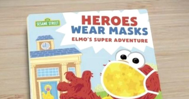 Sesame Street Releases 'Heroes Wear Masks' Picture Book to 'Calm School Anxiety' 1