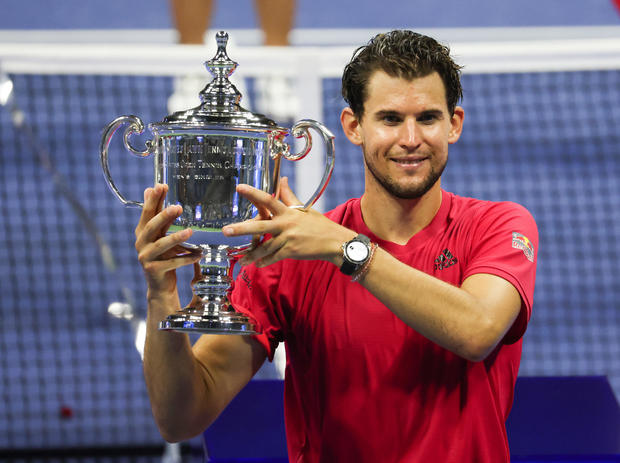 Dominic Thiem wins U.S. Open after losing first two sets 1