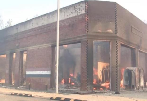Wildfire ravages Malden, Washington, destroys post office, homes 1