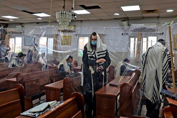 Israel's Coronavirus Czar Clashes With Ultra-Orthodox, a Netanyahu Ally 1