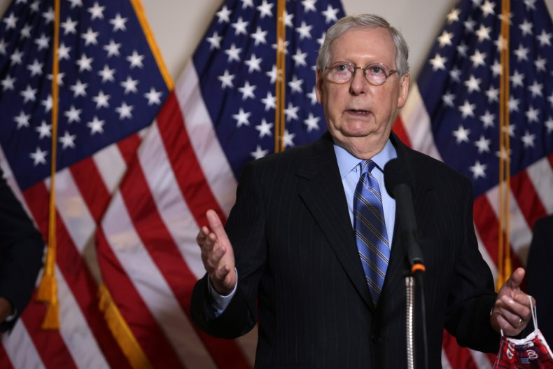 Senate Republicans Announce COVID-19 Relief Package, McConnell Demands Vote This Week 1