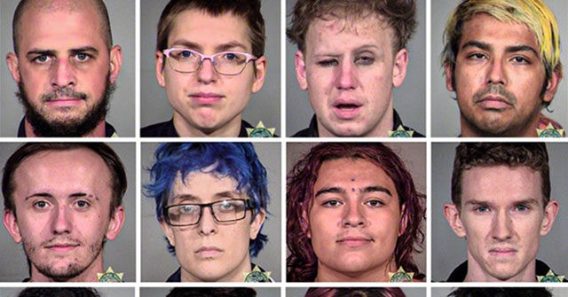Antifa Mugshots: Several Portland Rioters Released Without Bail 1