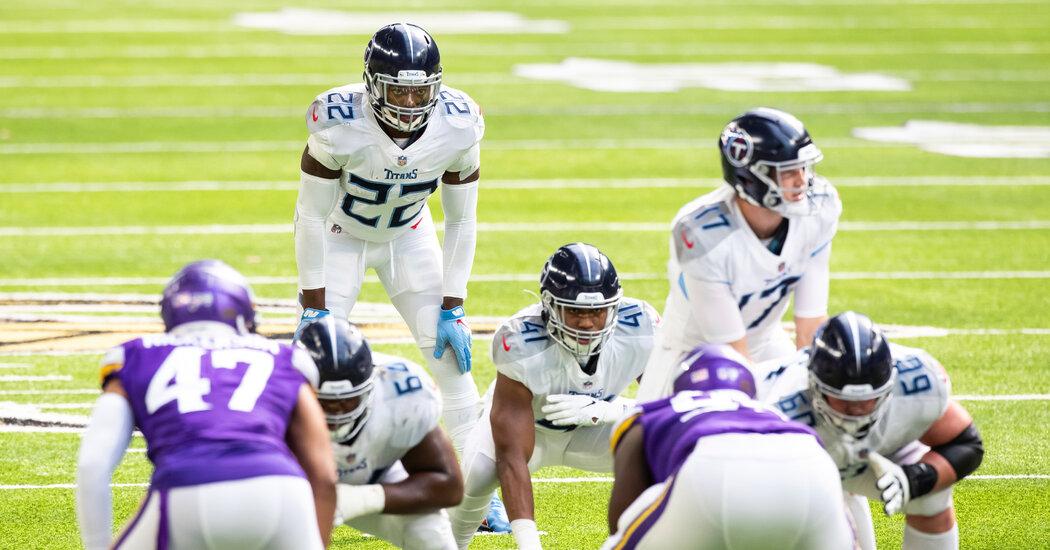 N.F.L. Again Moves Patriots and Titans Games Over Coronavirus 1