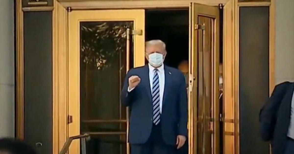 """Trump says he's """"immune"""" to coronavirus 1"""